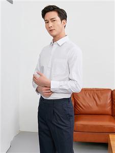 富绅男装富绅男装新款经典百搭白衬衫