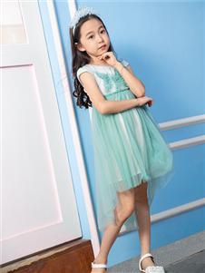 杰米熊女童夏季新款连衣裙