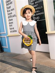 杰米熊女小童夏季新款裙子
