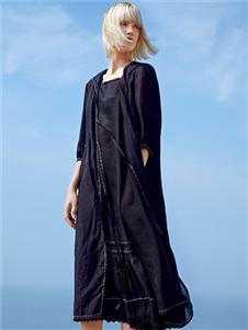主提新款黑色连衣裙