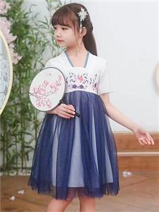 动漫童话国风时尚连衣裙