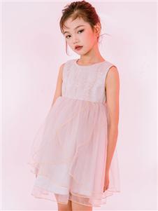 淘气贝贝童装淘气贝贝时尚网纱裙