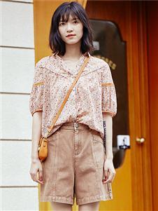 麗迪莎短袖襯衫