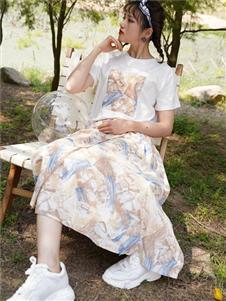 薇薇希2021夏裝女裙