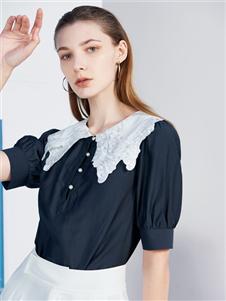 2021沙与沫夏装新款甜美衬衫T恤
