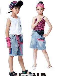 JOJO童装2021JOJO夏装新款牛仔短裤