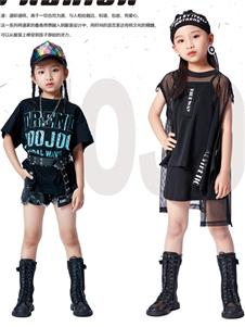 JOJO童装2021JOJO夏装新款黑色短裤