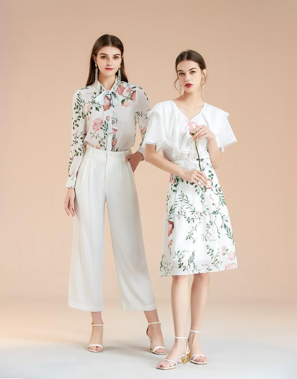 阳光渐暖,换上艾丽哲小裙子,穿出美,穿出气质,穿出自己的style!