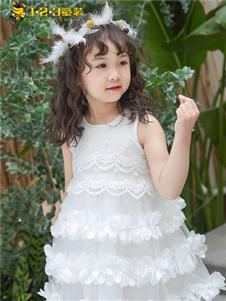 1+2=3童装童装1+2=3童装新款无袖连衣裙