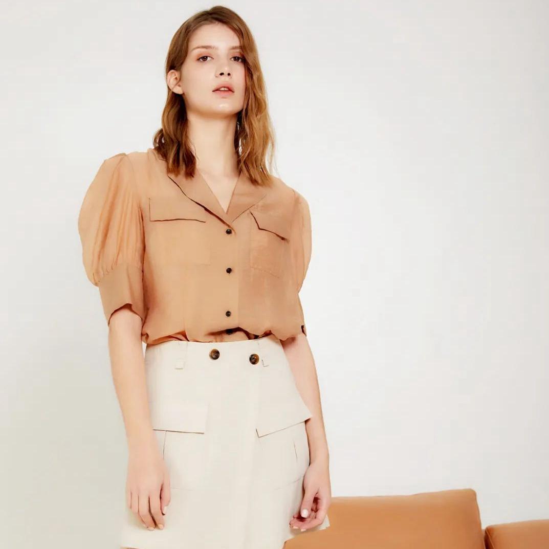 丽芮LEEIROSEY |选一件气质衬衫,知性十足