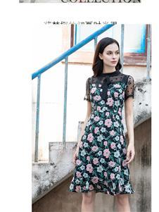 莎梵娜春夏新款连衣裙