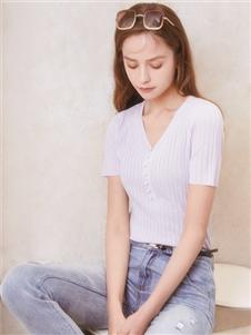2021凡恩夏装新款白T恤