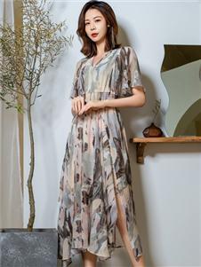 2021三弗国际时装夏装连衣裙