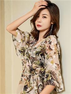 2021三弗国际时装夏装雪纺衬衫