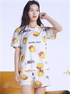 100%女人夏装新款睡衣
