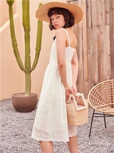 2021TITI夏裝新款吊帶裙