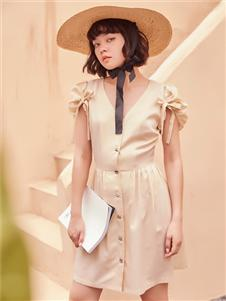 2021TITI夏裝新款法式連衣裙