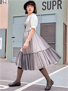 2021TITI夏裝新款紗裙