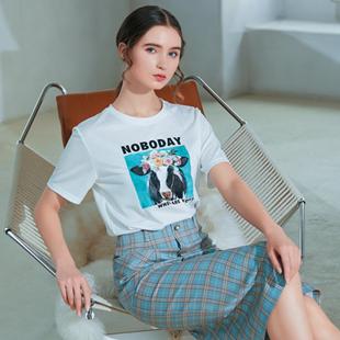 夏季时尚穿搭单品有什么?金蝶茜妮时髦T恤穿搭个性又时髦