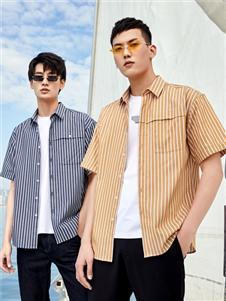 2021KIKC夏装短袖衬衫