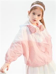 2021昕季雨夏装粉色防晒衣