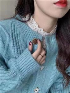 簡詣2021秋裝針織衫