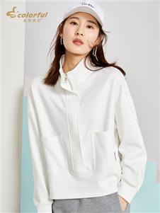 曼秀缤纷新款时尚外套