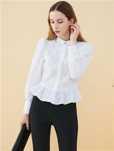 2021沙与沫秋装甜美衬衫