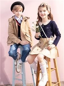 暇步士秋季新款男童外套