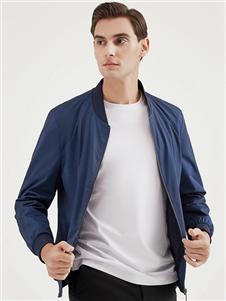 2021喬治邦尼秋裝藍色外套
