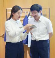 全国工商联党组成员、副主席李兆前一行莅临酷特智能调研
