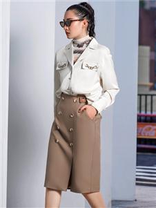 2021例格秋裝半裙