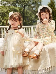 Deesha笛莎新款小童連衣裙