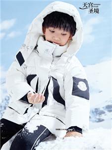 2021JOJO秋冬白色羽絨服