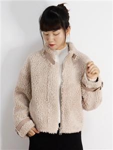 2021靚漫蒂秋冬新款羊羔毛外套