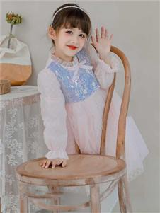 动漫童话女童新款网纱裙