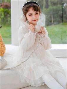 动漫童话女童新款连衣裙