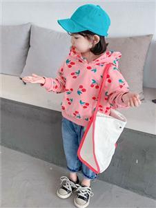賓果童話新款粉色衛衣