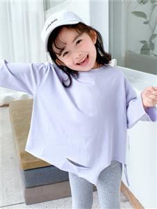 賓果童話淺紫色時尚衛衣