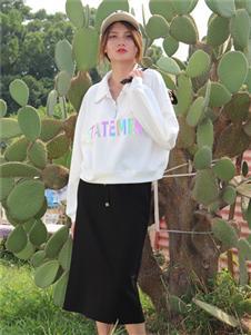 2021妍啦秋裝白色外套