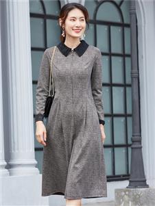 夢莎奴時尚氣質連衣裙