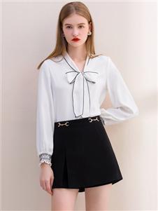 艾麗哲新款白色上衣