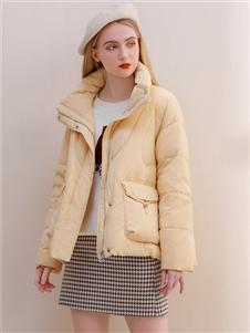 艾麗哲新款時尚羽絨服