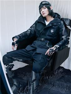 2021KIKC秋装黑色外套