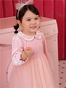 鉛筆俱樂部新款粉色連衣裙