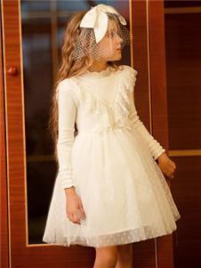鉛筆俱樂部新款白色連衣裙