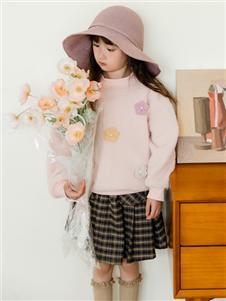 西瓜王子童装西瓜王子新款粉色卫衣