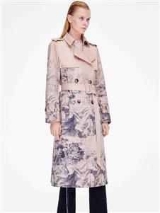 ZHUTI主提時尚印花風衣