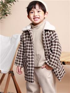 2021小嗨皮秋冬格子外套