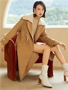 曼秀缤纷冬装新款大衣